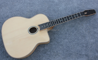 free shipping high end all solid wood archtop guitar china classic jazz gypsy guitar