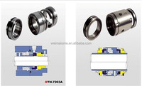 mechanical seal for rotary shaft