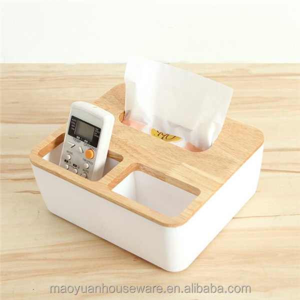 cheap professional tissue box with remote controller
