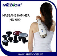 handy head handheld vibrating heating percussion massager