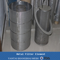 316 / 316L stainless steel waste water treatment filter
