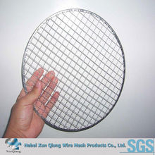 galvanized iron disposable bbq grill wire mesh
