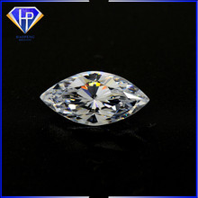 Free sample High Quality 4x2mm White CZ Brilliant Cut Marquise Shape 57 Facets Loose Cubic Zirconia Stone