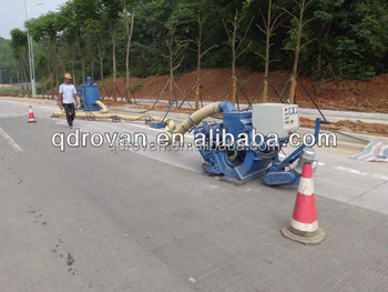 NEW automatic high-speed asphalt road surface shot blasting equipment