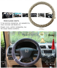 Hot Sell in China Cheap Steering Wheel Cover Leather