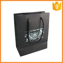 OEM Custom Art Paper Made Fashion Drink Carry Bags For Consumption