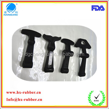 Cusomize hood rubber latch for cooler