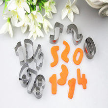 26 English Letter Shape Cake cookie cutter ,fondant cake decorating tools