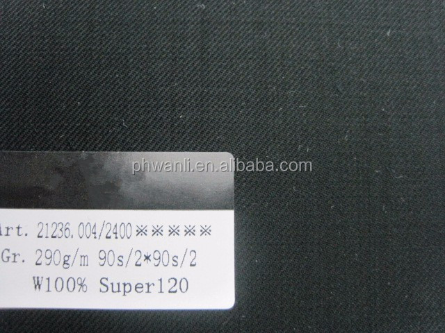 Super quality worsted 100% wool fabric wholesale for suiting