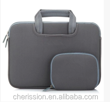 Stylish 12.5 inch laptop bag neoprene laptop sleeve
