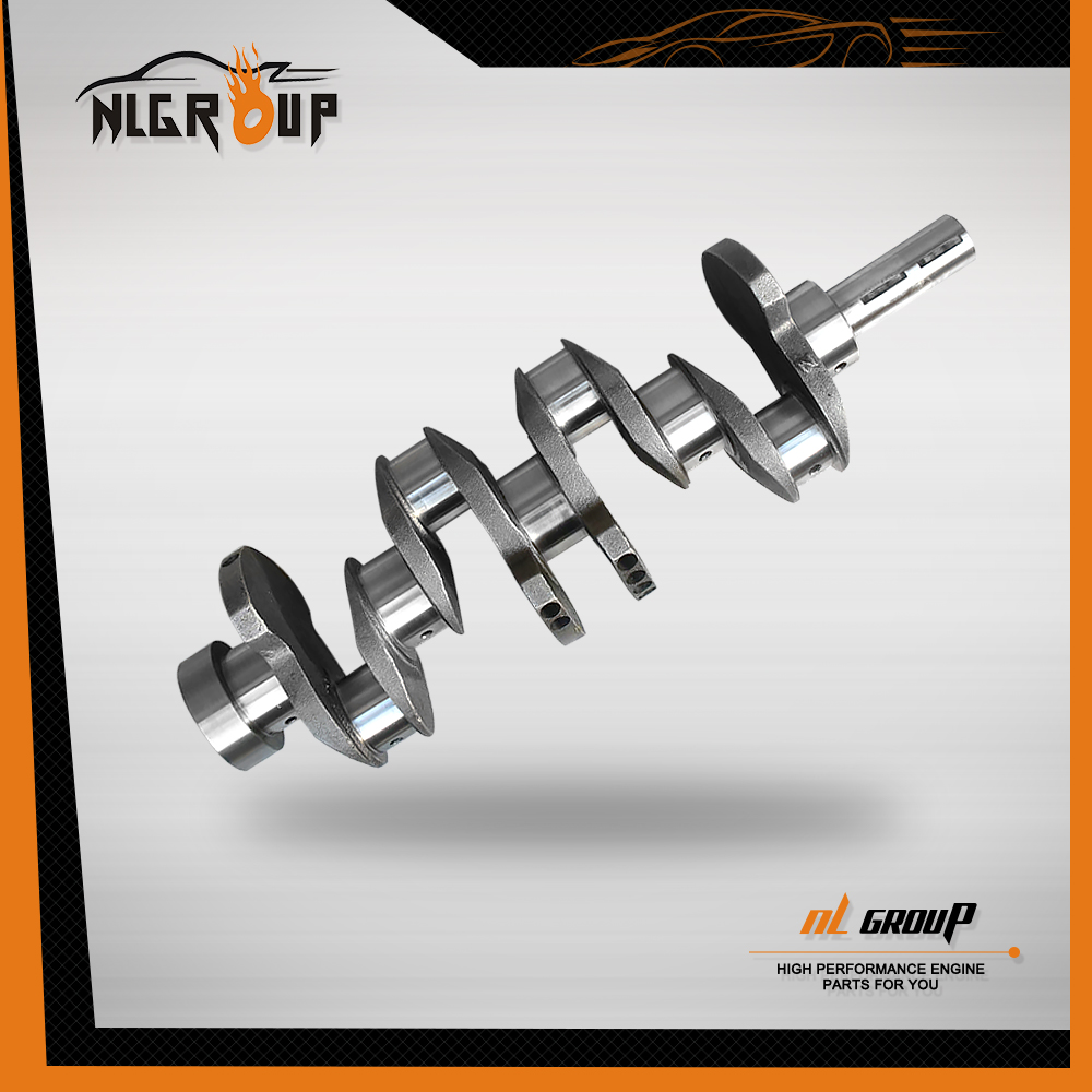 Cast or Forged 4340 Alloy Steel Crankshaft for Isuzu 4FC1 Crankshafts