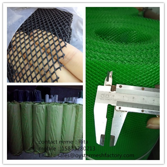 custom size plastic mesh fence roll With Recycle System