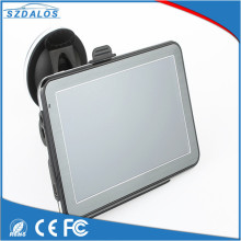 High quality gps navigation system 5inch car road navigator with bluetooth reverse camera