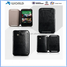 Book Type Style Ultra Slim Leather Case For HTC one M8