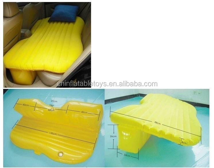 Factory inflatable bed for cars , inflatable car mattress