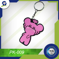 2D/3D pvc keychain hot sales made in china