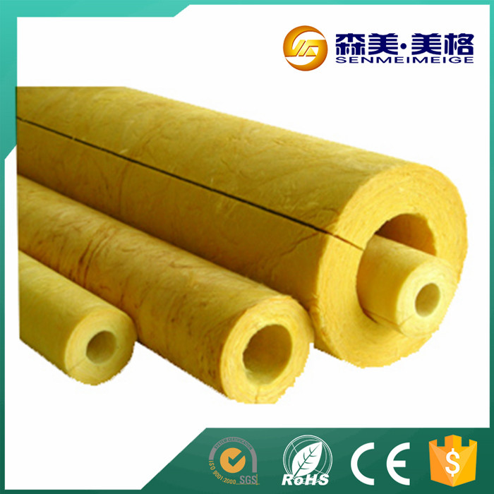 Hebei Senmei heat insulation glass wool pipe cover