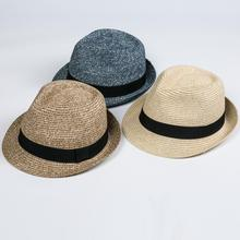 cw1650 lady fashion fedora straw summer floppy sun hats Cheap Custom Large palm logo raffia straw hat