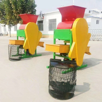Light removing peanut husking/Groundnut hulling/Peanut sheller machine