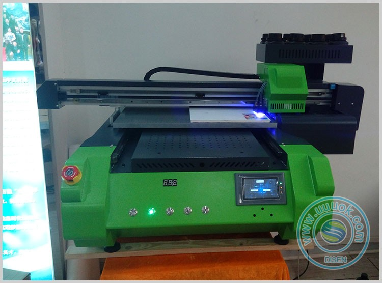 DSP-AC6060 UV flatbed high speed multifunction printing on glass