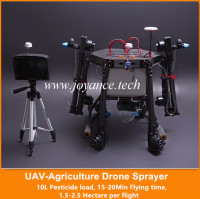 wholesale drone 5L/10L/15L flying agricultural drone sprayer , uav agricultural spraying