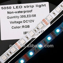 CE&ROHS 14.4w/m flexible led strip rgb 5050 smd 12v quite cheap