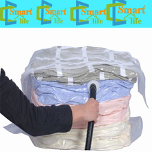 as seen on tv 2015 container big size plastic vacuum sealed space storage compressed cube bag