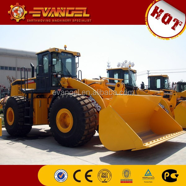 telescopic boom loader XCMG LW800K mini tractor loader