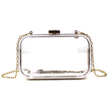 Cheap price wholesale top quality transparent acrylic clutch