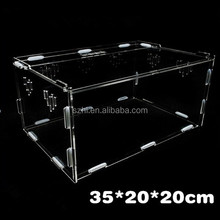 Acrylic hamster cage,hamster box,customized clear acrylic pets container