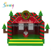 2017 NEW Design Inflatable Christmas Bouncer, Inflatable Christmas Bounce House for sale