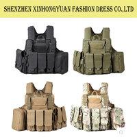Combat Assault Plate Carrier Vest Amphibious Tactical Safety Vest For Military