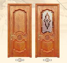 The newest classic european entry door design interior bedroom solid teak wooden for home building church residential main