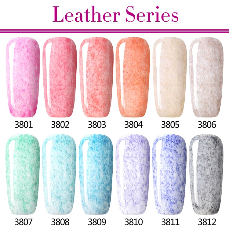 L&M Hottest Wholesale Gel Nails Products Soak Off Leather Gel Polish
