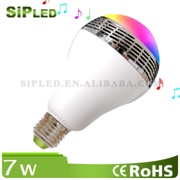 Bulb Lights Item Type and CE,RoHS,FCC Certification energy saving color changing e27 led bulb