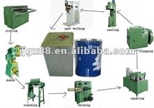 square tin can making machine /packing oil