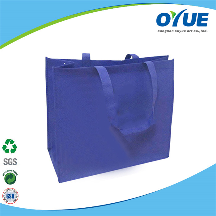 Eco friendly reycled blank non woven bags