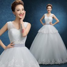 Newest best sell strapless wedding dresses for big women