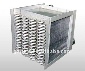 Industrial fin tube air radiator& heat exchanger for water air cooler