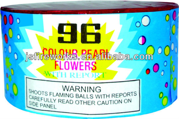 Traditional Fireworks-96S Color Pearl Outdoor Fireworks For Sale