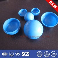 Customized large divisible clear hollow plastic sphere