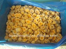 IQF Apricot in Frozen Diced Apricot and Frozen Apricot Cubes