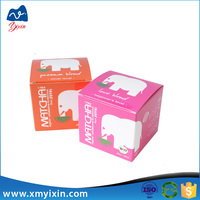 Cream packaging box bamboo cosmetic container