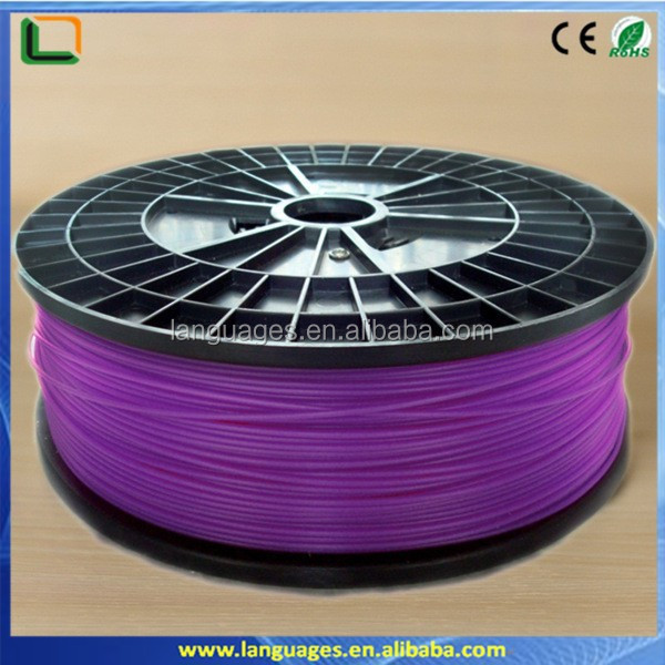 abs filament 1.75mm abs hdpe rod/bar ,abs 3d printer filament