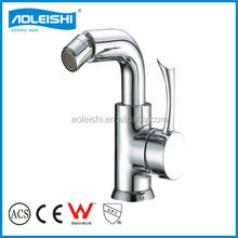 Popular round design bidet faucet mixers taps made by EU standard fish faucet