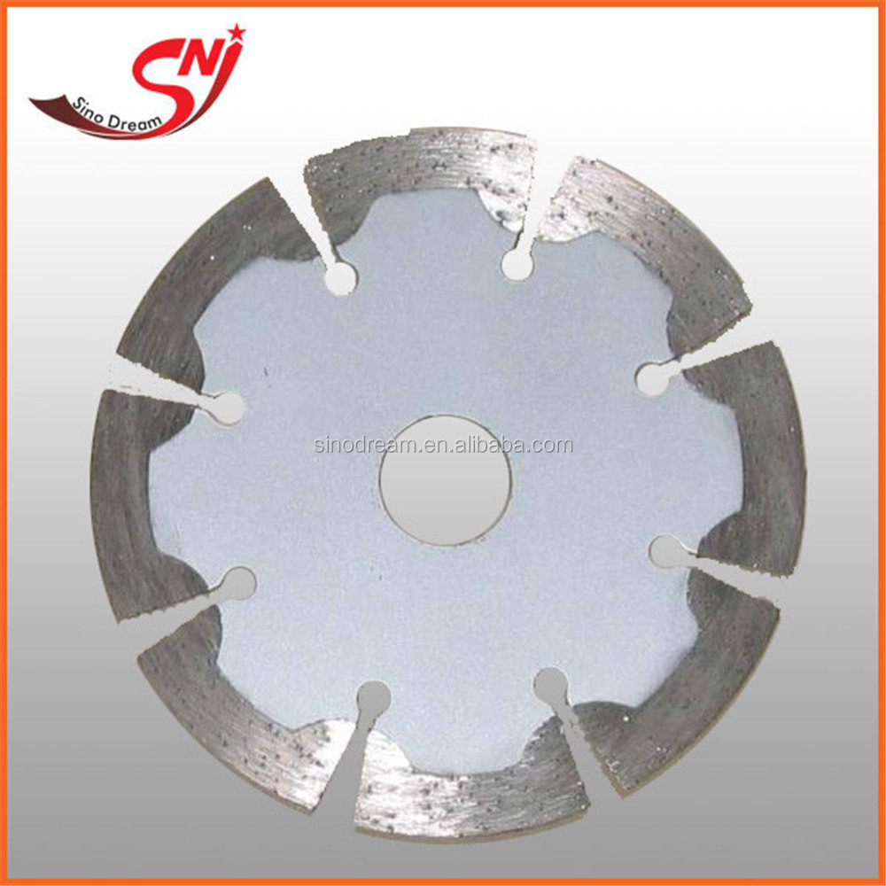 "7"" diamond tool hot pressed AG turbo diamond saw blade for tiles, ceramic,granite,marble,and concrete power"