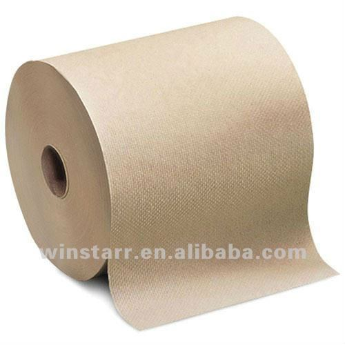 big discount recycled kraft paper hand towel roll