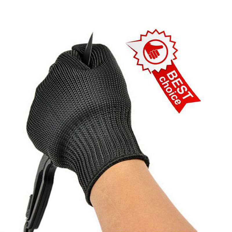 SRSAFETY Proof Protect Stainless Steel Wire Safety Gloves Cut Metal Mesh Butcher Anti-cutting breathable