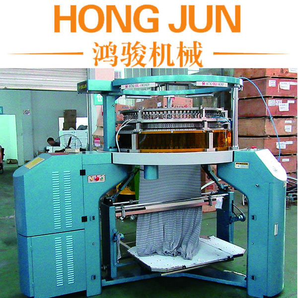 Single Jersey Mini Jacquard Circular Knitting Machine with three way technique needle selector