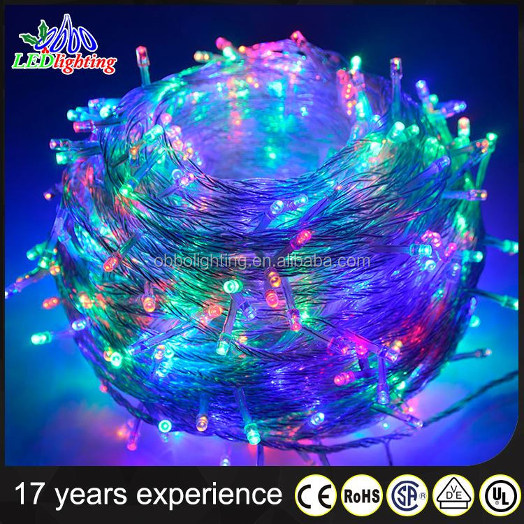 Small lights string lights 100 10 m led star lights flash waterproof outdoor color festival wholesale wedding decoration